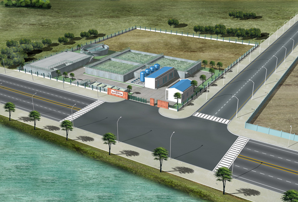 Waste Water treatment System, 5.000m3