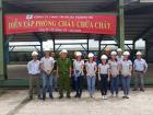 Hoang Ha Company Rehearse Fire Protection At Nhon Trach Workshop -DongNai Province